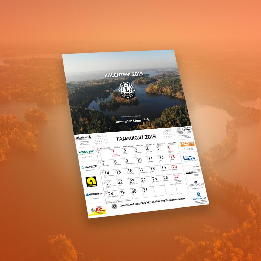 LC Tammela kalenteri 2019