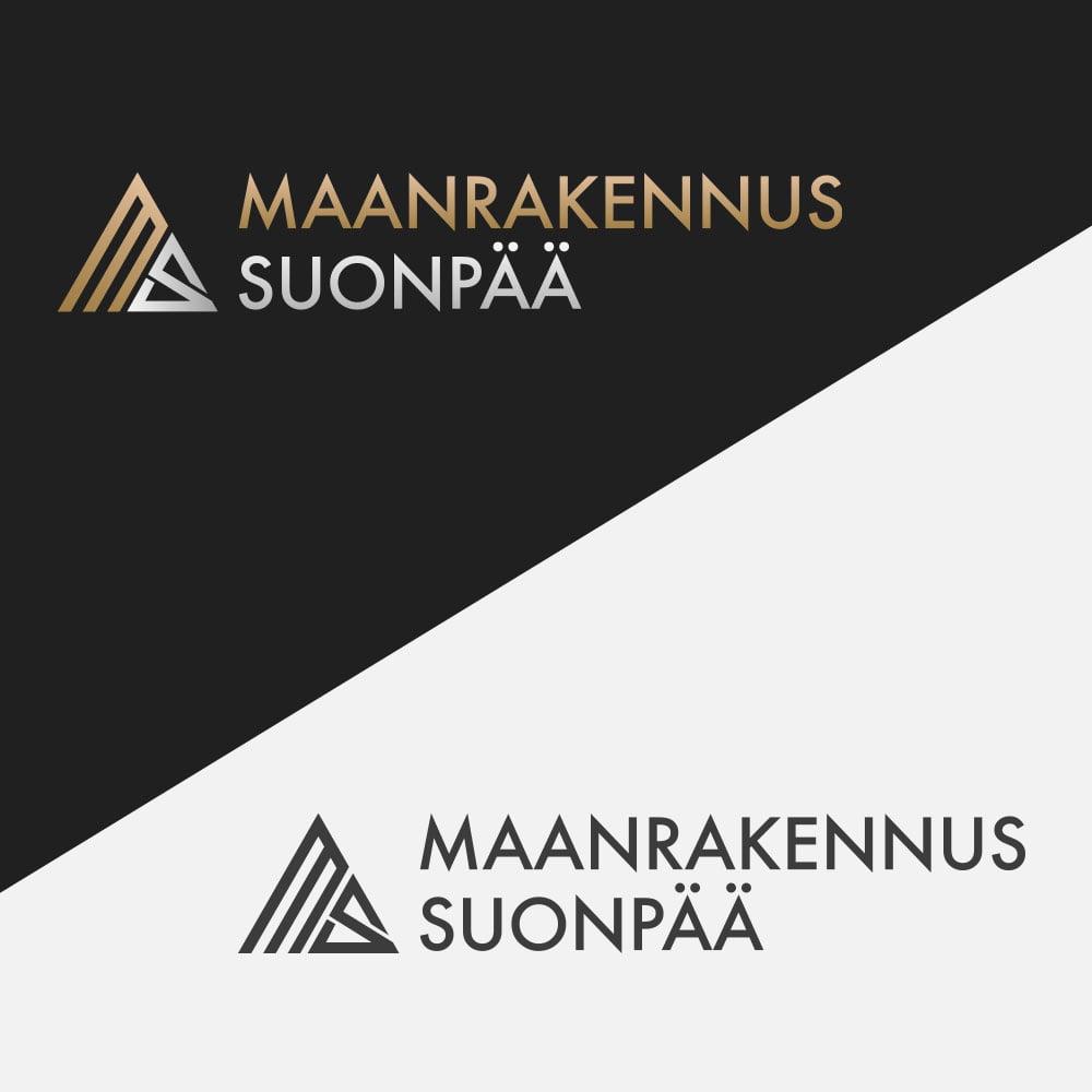 Maanrakennus Suonpaa logo